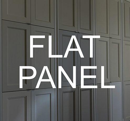 MDF Doors Flat Panel Banner