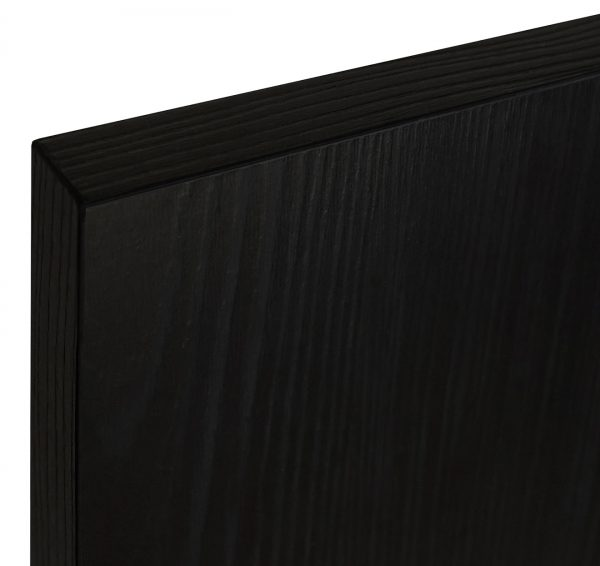 BLACK U999 GRAIN TEXTURED MELAMINE