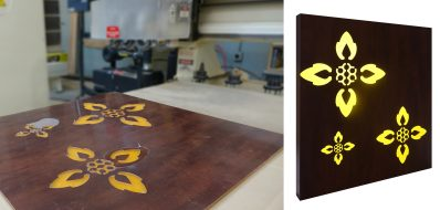 Custom CNC Cutting Metal on Plastic