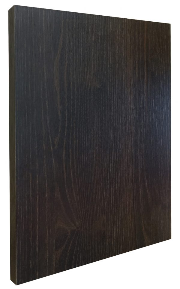 TM Black Brown Thermo Oak Door